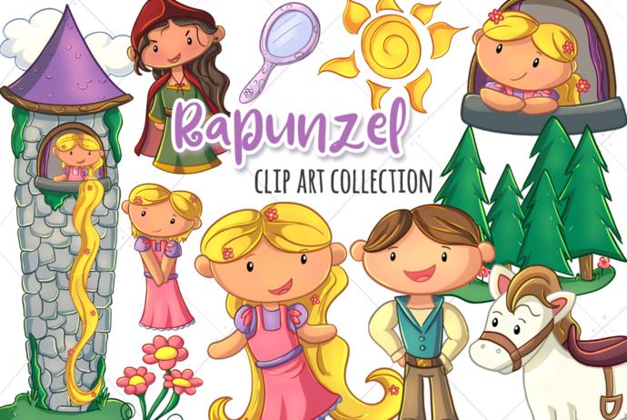 Hidden Tower Clip Art Collection