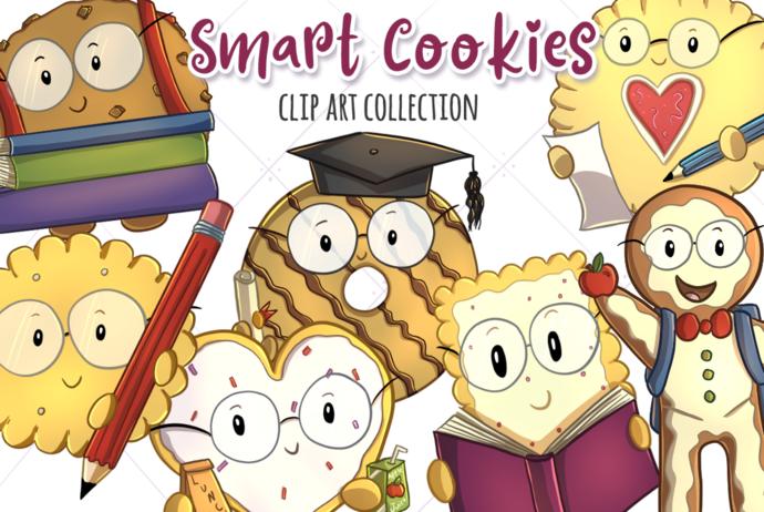 Smart Cookies Clip Art Collection