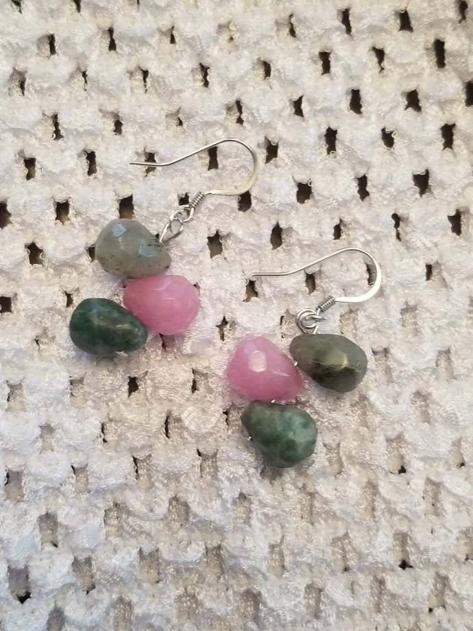 3Bead Earrings