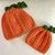 READY TO SHIP Pumpkin Halloween / Fall Baby Hat - Photo Prop / Costume -