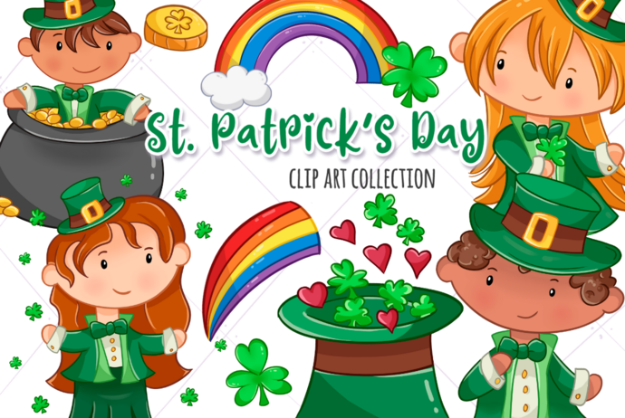 St. Patrick's Day Clip Art Collection