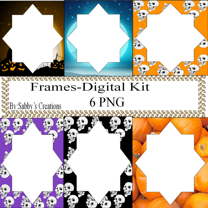 Frames Shapes 1G-Digital Kit-Jewelry Tag-Clipart-Gift Tag-Holiday-Digital