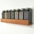 Spice Shelf Modern Wood Low Profile