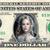 Elle Fanning Princess Aurora Maleficent 2 Mistress of Evil on REAL Dollar Bill