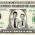 Andy Griffith and Barney Fife on REAL Dollar Bill Cash Money Memorabilia Novelty