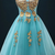Blue Tulle Homecoming Dress, Short Prom Gowns, Blue Graduation Dress