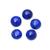 Natural Lapis Lazuli Round Cabochon 10 mm Semi Precious Loose Gemstone