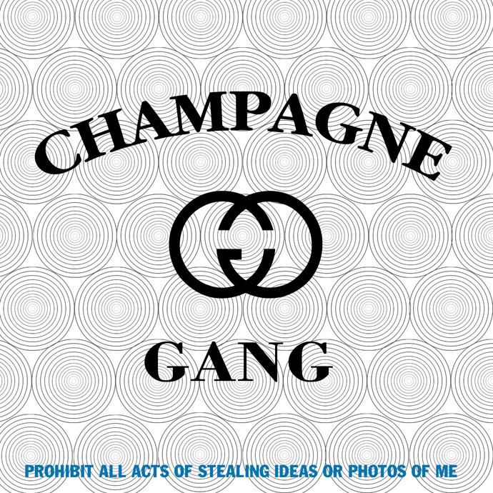 Champagne Gang Svg, C&G svg, Cute Champagne svg, Bachelorette Party Svg, Funny