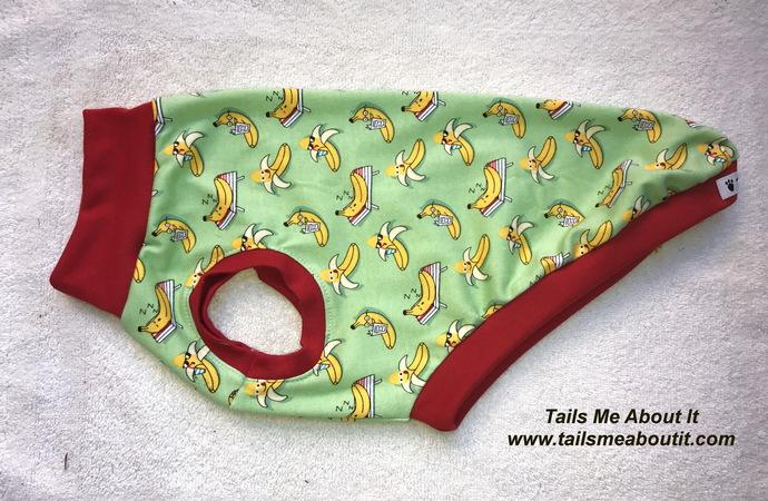 Bananas Cotton Stretch Top