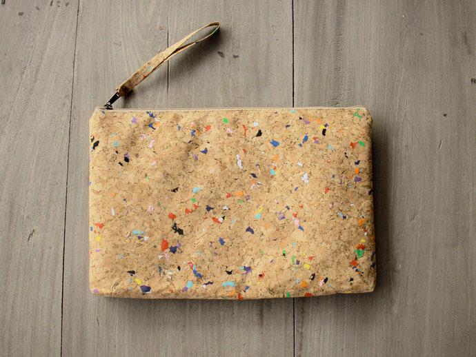 Cork Laptop Case 12 inch : Cork laptop sleeve, MacBook case 12 inch - Vegan
