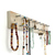 Jewelry Rack for Earrings, Necklaces and Bracelets, Long Off White Wall Mount
