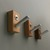 Modern Wall Hooks, Set of Three
