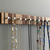 Jewelry Rack, Modern Wood Jewelry Rack, for Rings and Necklaces, Wall Mountable