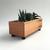 Reclaimed Wood Rectangular Succulent Planter