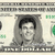 JIM LINDSEY Andy Griffith James Best on REAL Dollar Bill Cash Money Memorabilia
