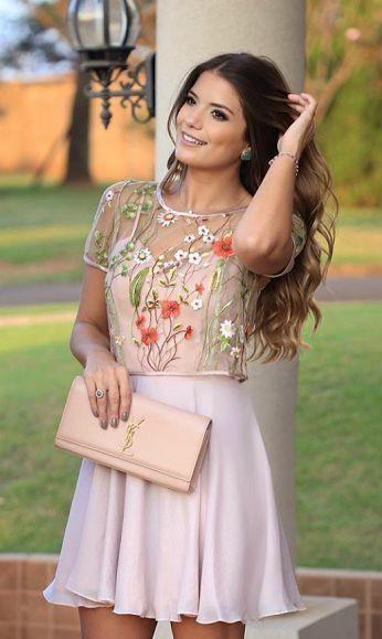 Short Homecoming Dresses pink Cocktail Dresses
