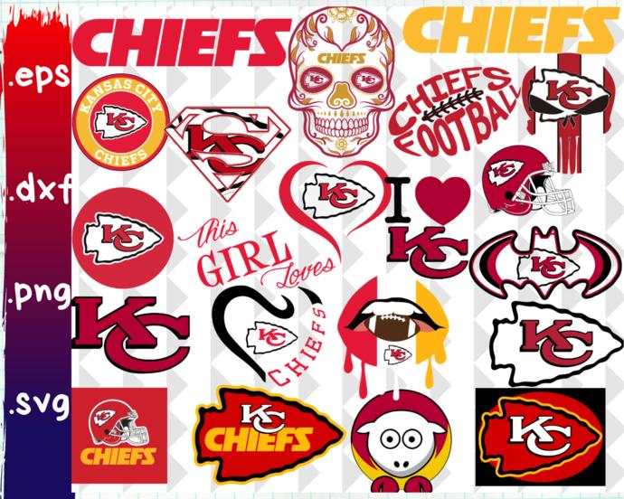 Clipartshop Kansas City Chiefs By Clipartshopcreations On Zibbet