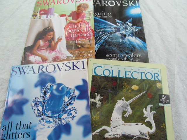 SWAROVSKI Collectors 4 MAGAZINES SCS 96 98 99