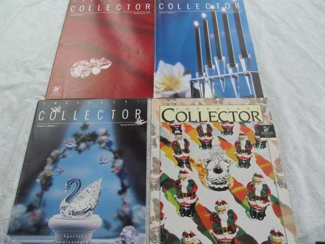 SWAROVSKI Collectors 4 MAGAZINES SCS 1994 1995