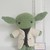 Yoda Inspired- Handmade Crochet Doll/ Plushie Toy/ Decoration