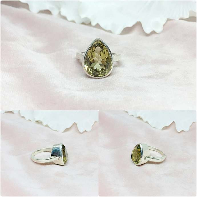 Quartz Sterling Silver Ring