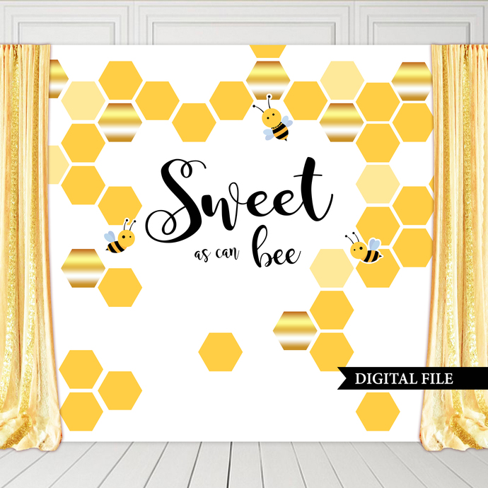 Bumblebee Gender Reveal Invitation, Printable Files, He or She What will Baby
