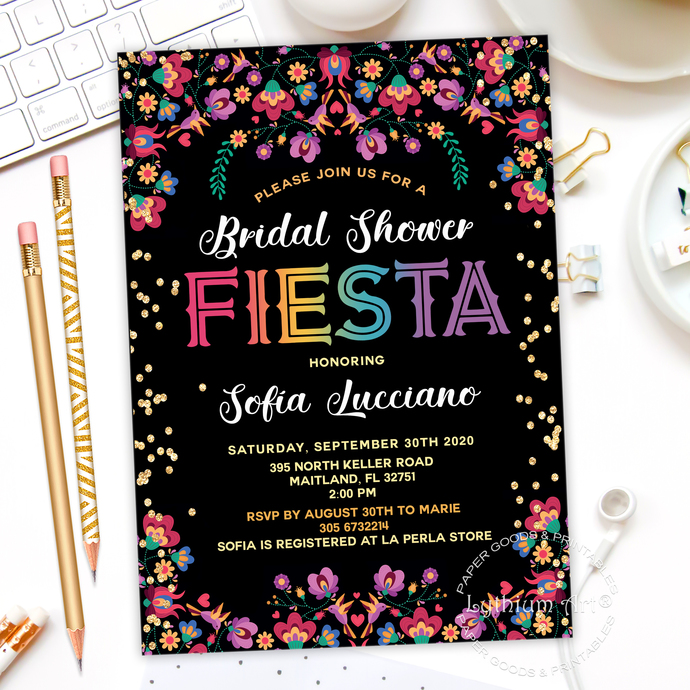 Fiesta Welcome Party Sign, Fiesta Party Decorations, Mexican Party Sign, Any