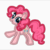 My Little Pony Embroidery Applique Designs - Pinkie Pie