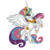 My Little Pony Embroidery Applique Designs - Celestia