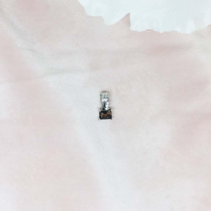 Topaz Sterling Silver Pendant