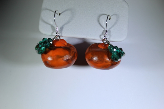 Limited edition Halloween pumpkin earrings! Free shipping USA only