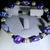Hand sculpted polymer clay beaded bracelet. Free shipping USA only