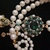 Beutiful handmade necklace pearls