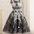 Stylish Tulle Appliques Short Homecoming Dress, A Line Prom Dress