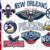 New Orleans Pelicans, New Orleans Pelicans svg, New Orleans Pelicans clipart,