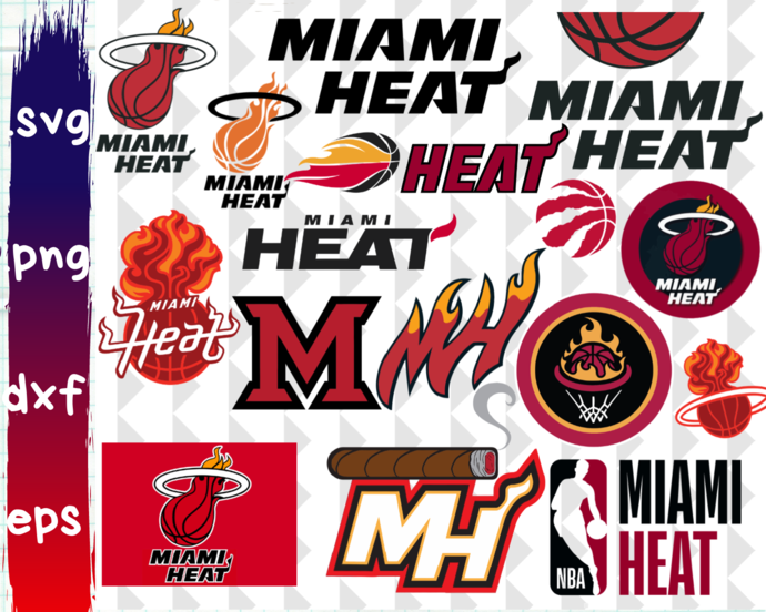 Clipartshop Miami Heat Miami Heat By Clipartshopcreations On Zibbet