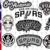 San Antonio Spurs, San Antonio Spurs svg, San Antonio Spurs clipart, San Antonio