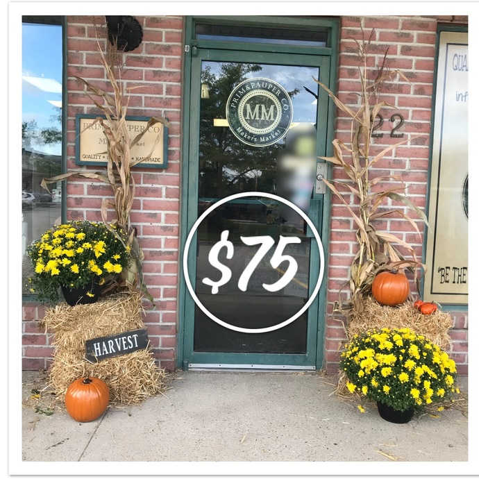 FALL PORCH PACKAGE- $75