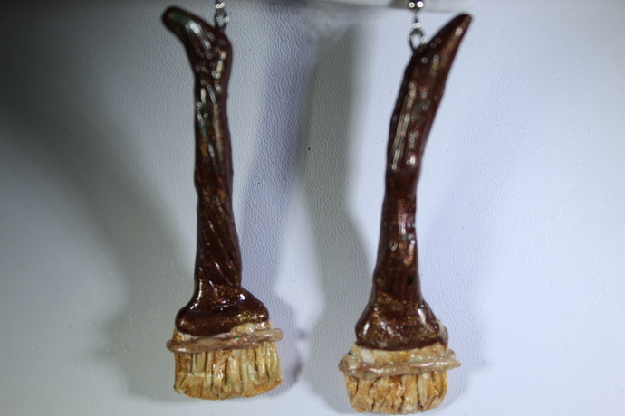 Limited edition Halloween Modern Witches broom sticks! Only 2 available free