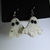 Limited edition Halloween Ghost foil earrings. Only 3 available free shipping