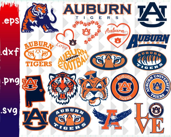 Auburn Tigers svg, Auburn Tigers logo, Auburn Tigers clipart, Auburn Tigers