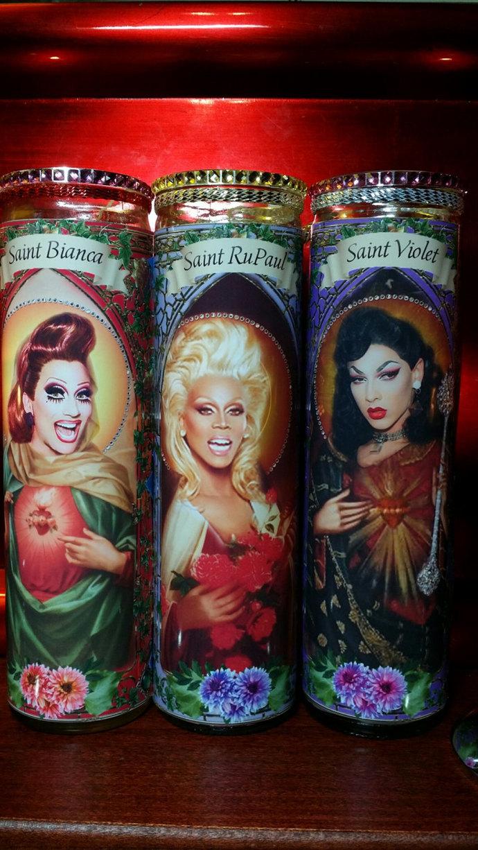 Shea Coulee of RuPaul's  Drag Race  - Drag Queens -  Celebrity Saint Prayer