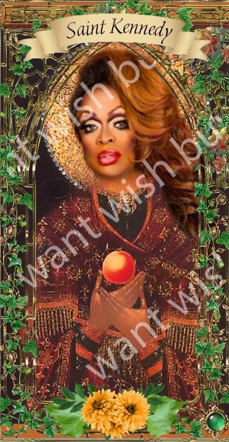 Kennedy Davenport of RuPaul's  Drag Race  - Drag Queens -  Celebrity Saint