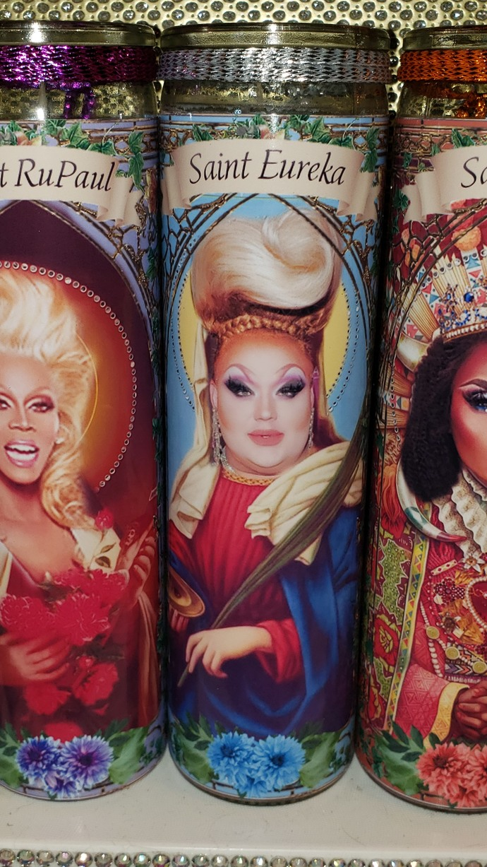 Eureka O'Hara of RuPaul's  Drag Race  - Drag Queens -  Celebrity Saint Prayer