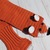 Crochet Fox Scarf - Toddler Small Child Adult Winter Novelty Scarf - Gift for