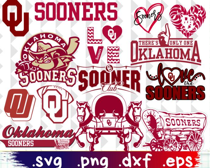 ClipartShop, Oklahoma, Oklahoma Sooners, Oklahoma Sooners svg, Oklahoma Sooners