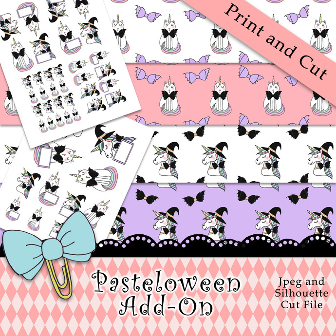 """""""Pasteloween Add On"""" Printable Download"""