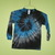 Blue/Black/Grey Tie Dye 5T Long Sleeve T-Shirt