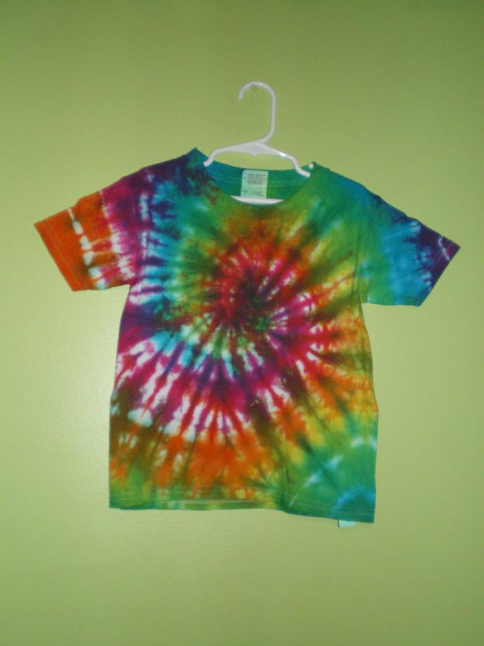 Rainbow Tie Dye 5T T-Shirt