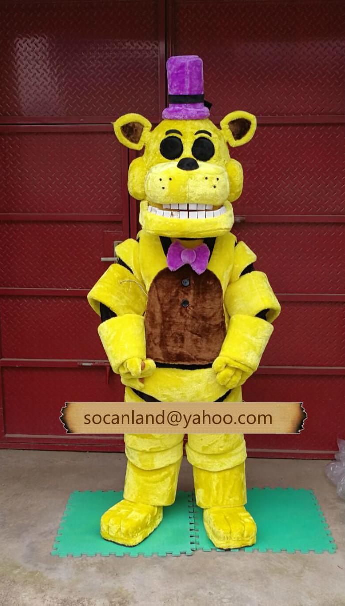 FNAF Fredbear Furry,Fredbear Costumes,Fredbear Fursuits,Golden Freddy